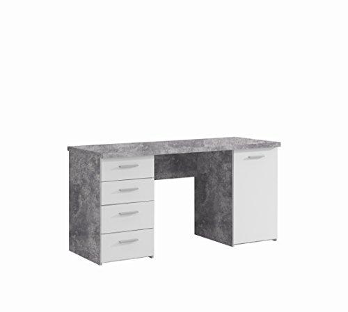 FORTE Net106 Schreibtisch mit 4 Schubkästen...