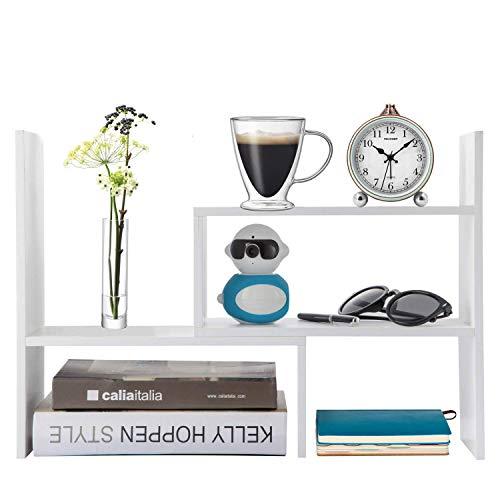 Home-Neat Schreibtischregal Verstellbar...