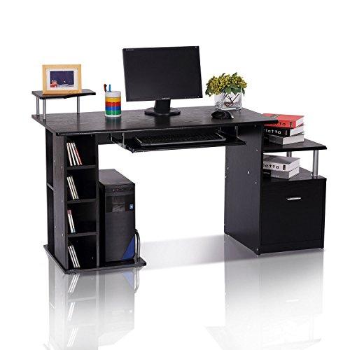 HOMCOM Computertisch Schreibtisch Bürotisch...