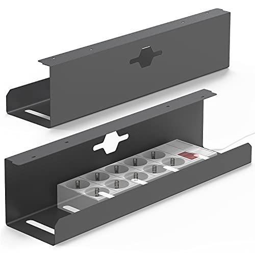 iVengo® Kabelkanal Schreibtisch [2er Set]...
