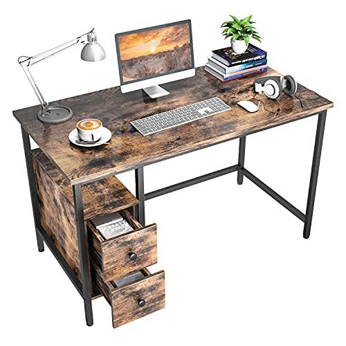 Schreibtisch mit 2 Schubladen, GIKPAL...